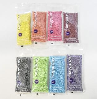 Sprinkles Nonparleis Wilton Mini Perlas Muchos Colores