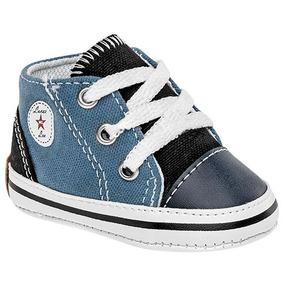 Tenis Sneaker Bota Sofi Niños Textil Azul 02227 Dtt