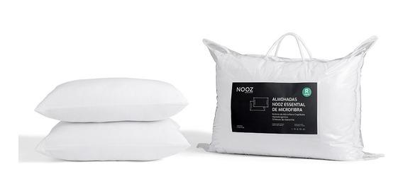 Almohadas Nooz Essential De Microfibra, 2 Pack King
