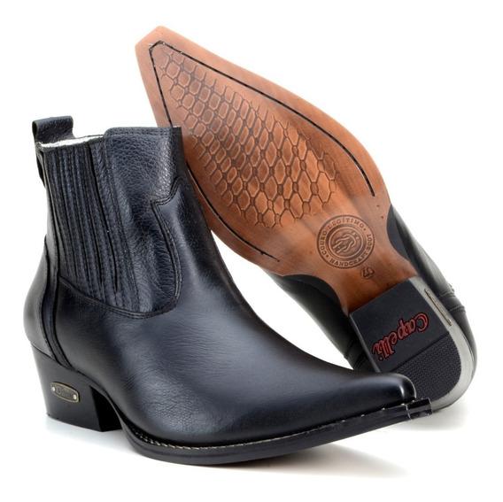 Bota Country Masculina Texana Botina Bico Fino 4country Boot