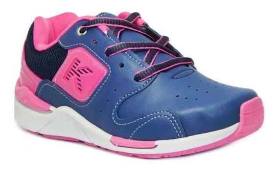 Tênis Kidy Infantil Casual 097-1142 - Marinho/pink