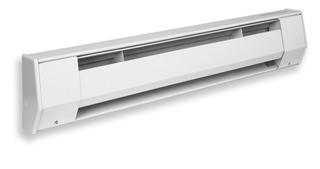 King 6k2412bw K Series Baseboard Heater, 6