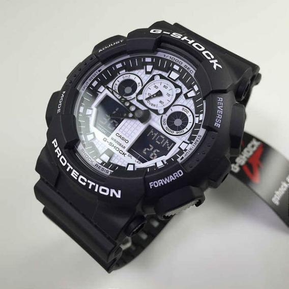 Relógio Casio G-shock Ga100bw-1a - Original
