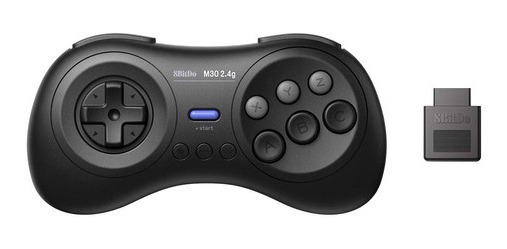 8bitdo M30 2.4g Controle Sem Fio Mega Drive Sega Genesis