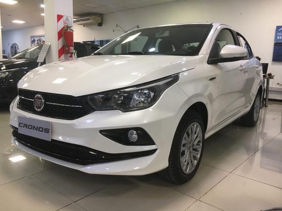 Fiat Cronos 2020 0km - Retira Con $80.000 O Tu Usado! -l
