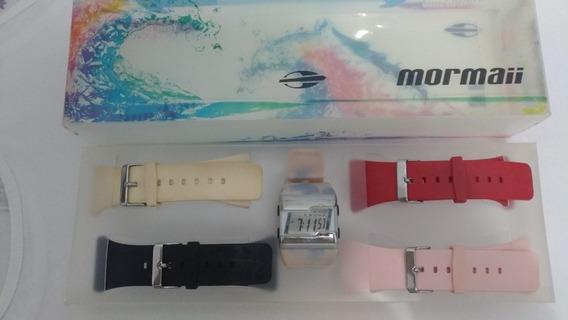 Relógio Mormaii 5 Em 1Troca Pulseiras Acquarela