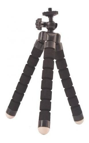 Mini Tripé Flexível Ajustável Flexível Gopro Sjcam Celular