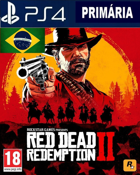 Red Dead Redemption 2 Ps4 - Primaria Psn Legendas Português