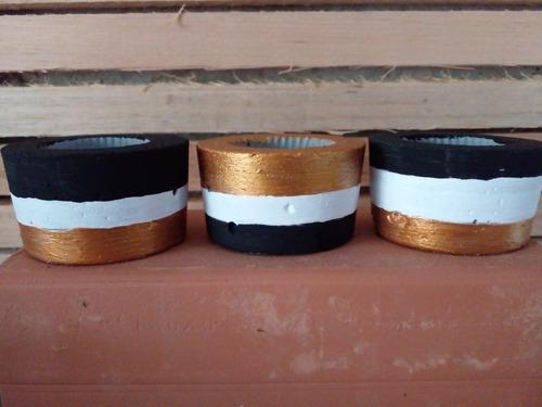 Imagem 1 de 4 de Cachepô Baby Kit Com 3 Unidades.