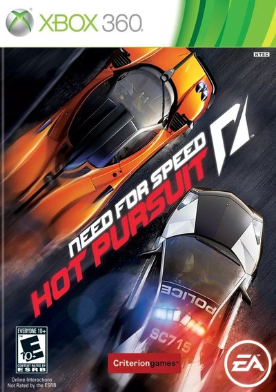 Jogo Novo Lacrado Need For Speed Hot Pursuit Para Xbox 360