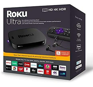 Roku Ultra | Streaming Media Player 4k/hd/hdr With Premium J