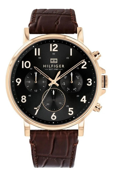 Relógio Tommy Hilfiger Masculino Couro Marrom - 171037