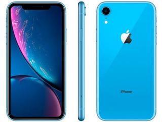 iPhone Xr Azul 64gb Anatel Lacrado Nota
