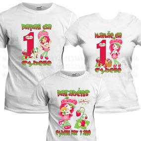 311bee25f8 Camiseta Moranguinho - Camisetas Manga Curta no Mercado Livre Brasil
