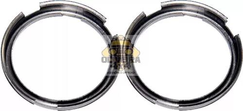 Imagem 1 de 2 de Par Anel Adaptador De Lampada H4 P/ Farol C/ Lampada H5