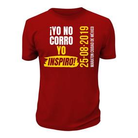Yo Inspiro, Playera Exclusiva Corredores Maratón Cdmx 2019