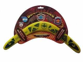 Boomerang Bumeran Aboriginal Diestros Largo Alcance 20-22 Mt