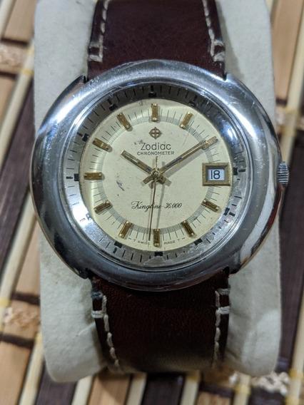 Reloj Vintage Zodiac Modelo Kingline 3600