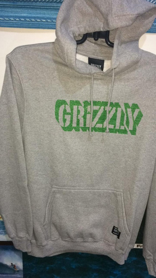Moletom Grizzly Leaf Original +nf