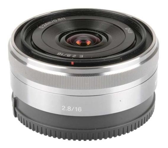 Objetiva Sony E 16mm F2.8