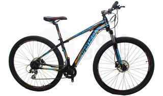 Bicicleta Dama Venzo Amphion R27.5 Mtb 24 Vel Frenos Discos