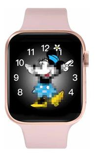 Relógio Smartwatch Série 5 44mm Iwo Max 2.0 Ios Ou Android