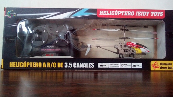 Helicoptero A Control Remoto. Jeidy Toys