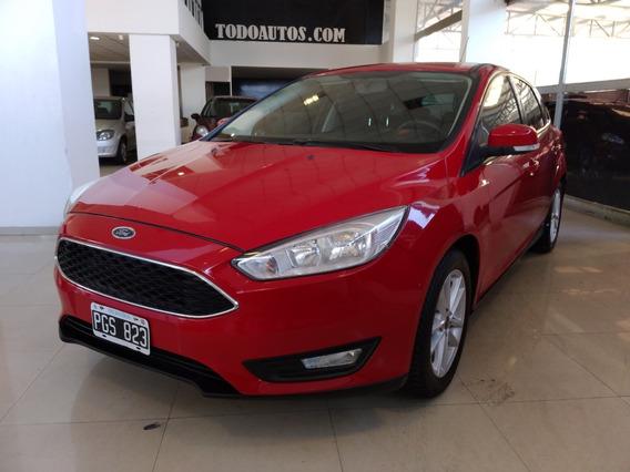 Ford Focus Iii S 1.6 Nafta 5ptas Año 2015 Color Rojo