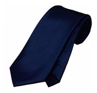 Gravata Azul Marinho Fosca C Ziper , 25 Un