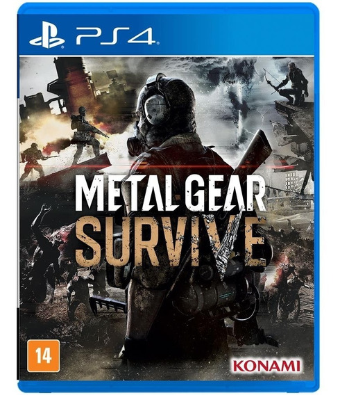 Metal Gear Survive - Ps4 / Mídia Física / Lacrado