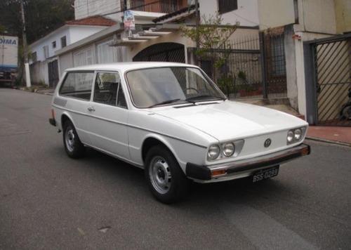 Vw - Volkswagen Variant 2 Placa Preta