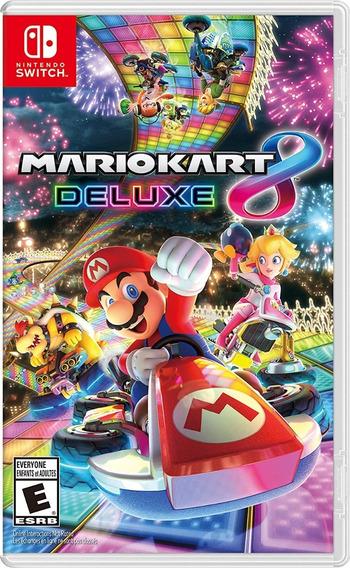 Mario Kart 8 Deluxe Nintendo Switch Mídia Física Lacrado