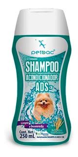 Shampoo Acondicionador Ads 250 Ml Petbac