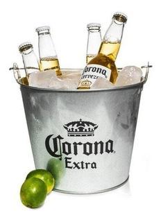 Cerveza Corona 2u 710ml + Frapera Original. Avellaneda.