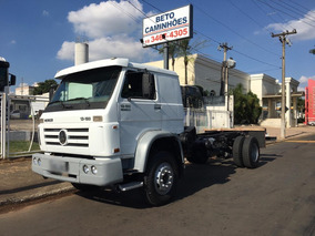 Vw 13180 Cab. Dupla 4x2 Chassis