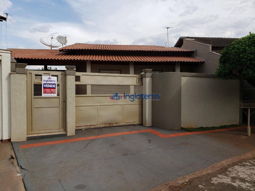 Casa À Venda, 217 M² Por R$ 458.000,00 - Residencial José B Almeida - Londrina/pr - Ca0999