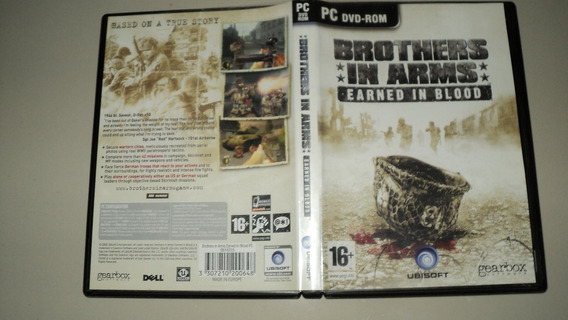 Jogo Pc Original - Brothers In Arms Earned In Brood F23