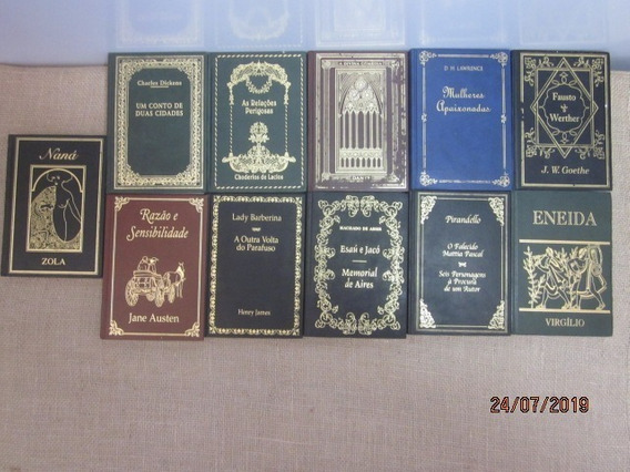 Lote 29 Livros Clássicos De Literatura Nova Cultural