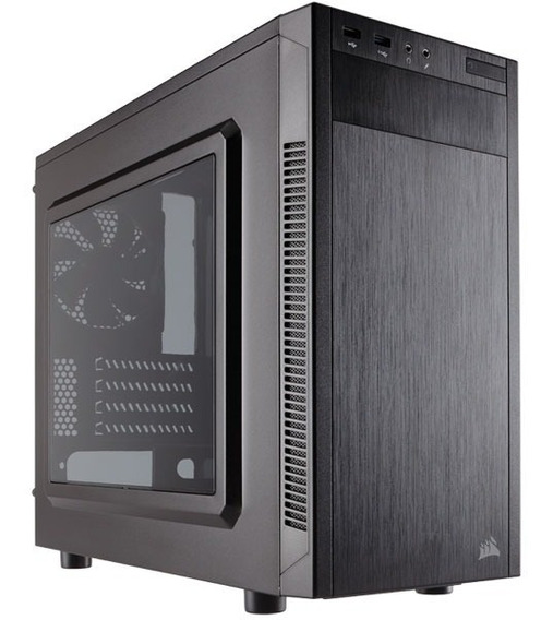 Gabinete Corsair Cc-9011086-ww Carbide Series 88r Matx Preto