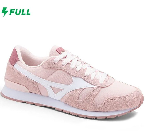 Tênis Mizuno Sports Style Ml 87 - Feminino - Rosa/branco