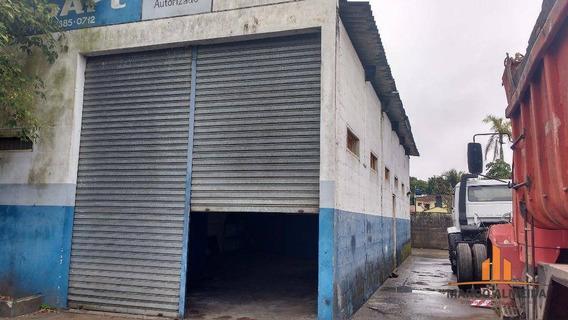Galpão Comercial À Venda, Jardim São João, Itanhaém. - Ga0001