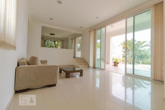 Casa Para Aluguel - Lot. Alphaville Campinas, 4 Quartos, 600 - 892996542
