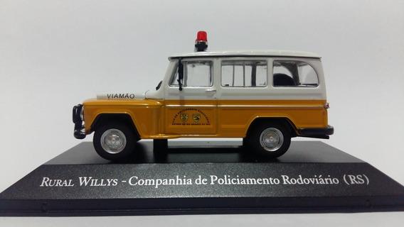 Veículos De Serviço - Rural Willys - Polícia Rodoviária - Rs