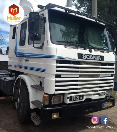 Scania 113 310 Modelo 1993 Tractor Original. Motor Nuevo
