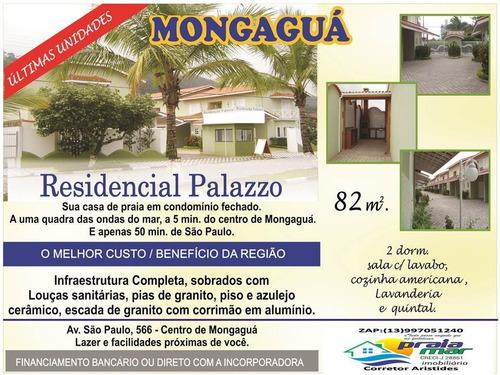 Imagem 1 de 14 de Casa De Condomínio Com 2 Dormitório,sala, Cozinha, Banheiro
