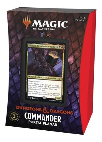 Imagem 1 de 7 de Deck Commander D&d Magic The Gathering Portal Planar