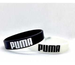 Pulseira De Silicone Puma - 02 Unidades - Frete 10,00