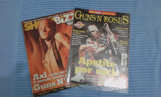 Revista Antiga Show Bizz Axel Rose Guns N Roses