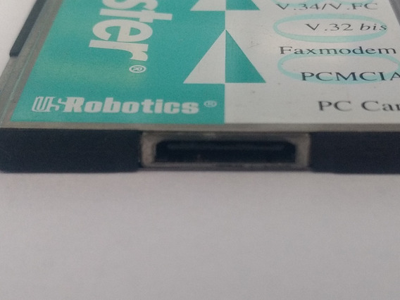 Fax Modem Pcmcia Us Robotics Sportster 28.8kbps V.34 Mfr