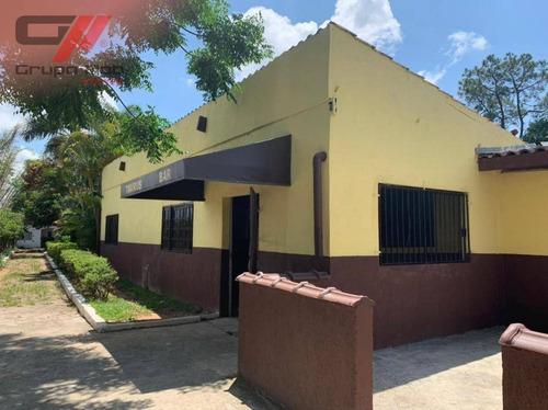 Imagem 1 de 8 de Chácara Com 3 Dormitórios, 2700 M² - Venda Por R$ 1.400.000,00 Ou Aluguel Por R$ 3.000,00/mês - Parque Senhor Do Bonfim - Taubaté/sp - Ch0028